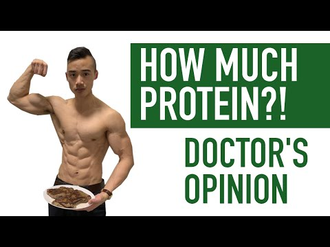 HOW MUCH PROTEIN Do You Need to Build Muscle? (Bulking or Cutting) | Pros and Cons of High Protein