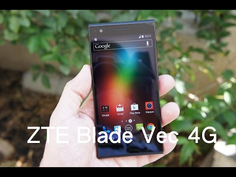 ZTE Blade Vec 4G hands-on (Greek)