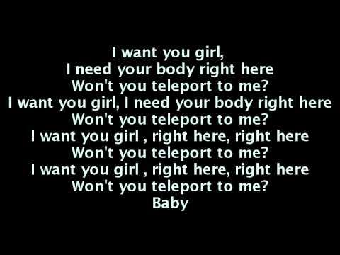 Kid Cudi - Teleport 2 Me, Jamie (Lyrics On Screen) WZRD