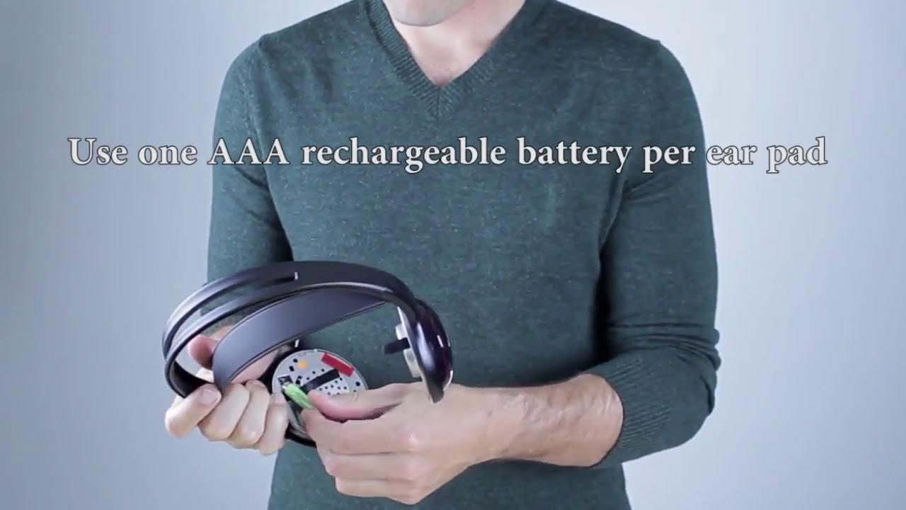 0b7e6102c24 Unisar TV Listener J3 Rechargeable Wireless Headset - YouTube