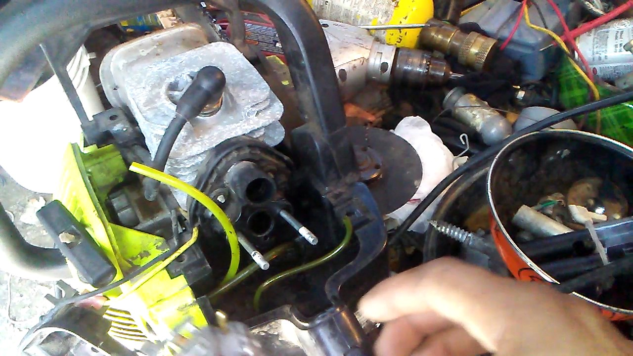 Poulan P3314 Fuel Line Config Wiring Diagrams Schematics Chainsaw Filter Woodshark Saw Carburetor Intake Lever Youtube Routing