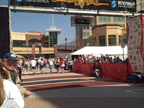 Salt Lake Marathon Finish