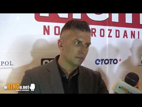 Mateusz Borek o gali Polsat Boxing Night 7