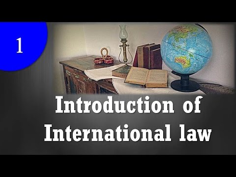Introduction of International law