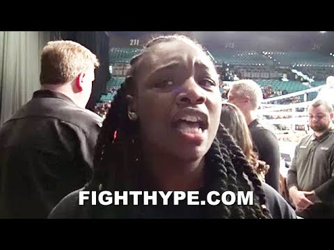 CLARESSA SHIELDS KEEPS IT HOOD WITH ADRIEN BRONER; ADVISES HE FIGHT PACQUIAO LIKE HE'S FROM THERE