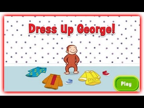curious george  dress up george!  curious george games