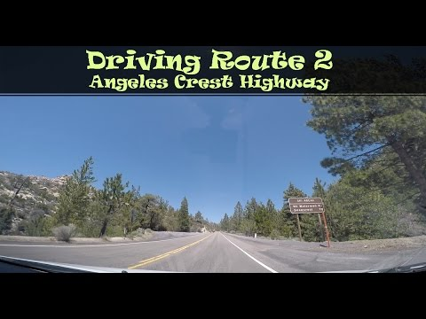 #120 Driving Route 2, Angeles Crest Highway (3/4)
