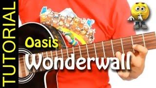 Como tocar Wonderwall en Guitarra acustica