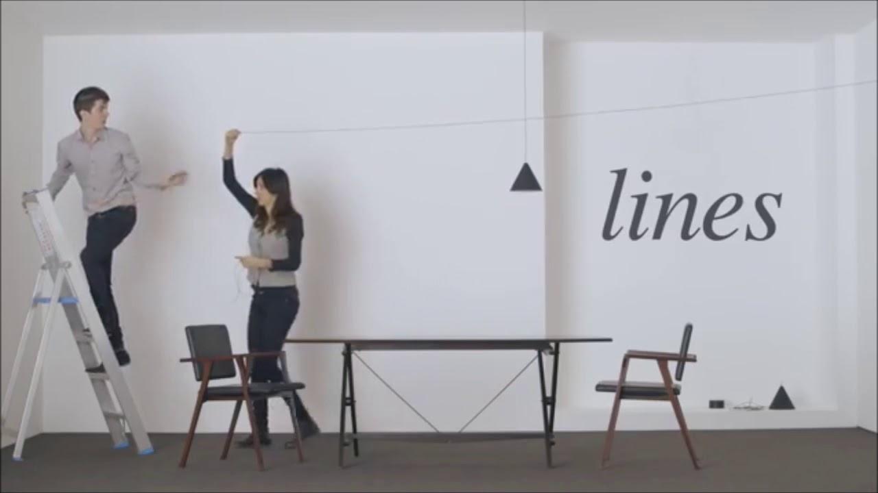 Lu016 Inter Faces L Installation Du Luminaire String Light De Flos