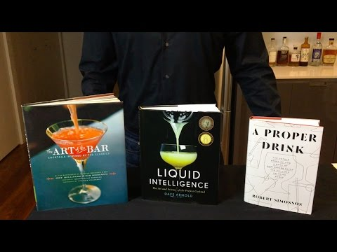 Getting Started - 3 Cocktail Books I Use And Recommend