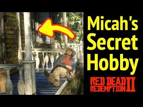 Micah Bell's Secret Hobby in Red Dead Redemption 2 (RDR2): ManBearPig Easter Egg & Van Horn Mansion thumbnail