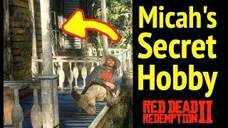 Micah Bell's Secret Hobby in Red Dead Redemption 2 (RDR2): ManBearPig Easter Egg & Van Horn Mansion