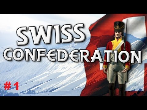 Ep1 Swiss Confederation Napoleon Total War Darthmod 2.65 Right In The Middle