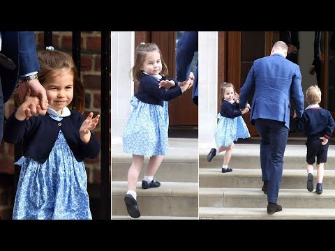 Princess Charlotte's the real Queen as she's already mastered the royal wave