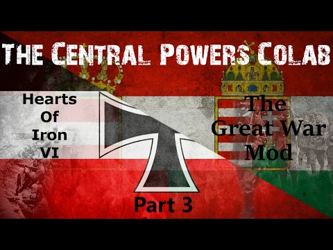 Let's Play Hearts of Iron 4 The Great War Mod - Central Powers Colab Part 3 - Independence Movements