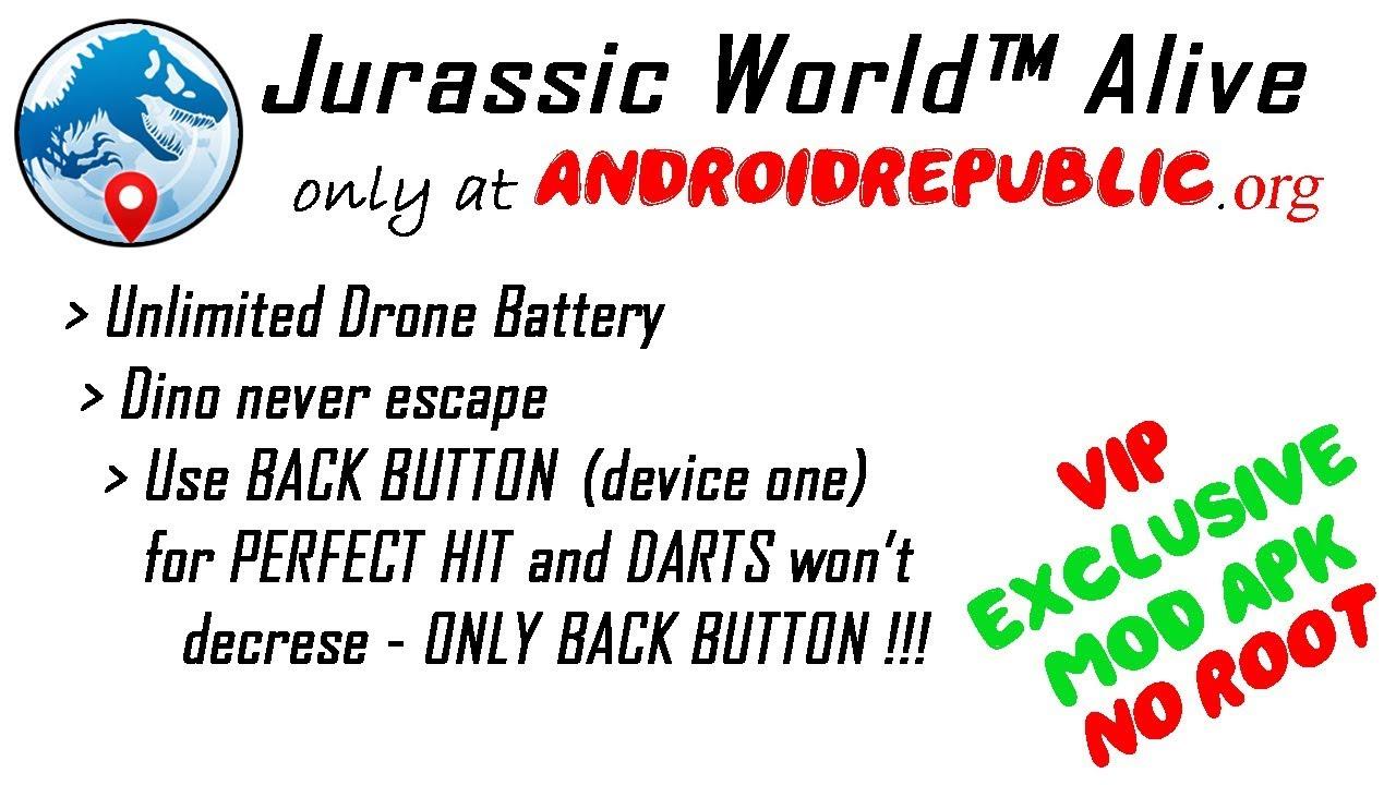 jurassic world alive mod apk 1.2.22