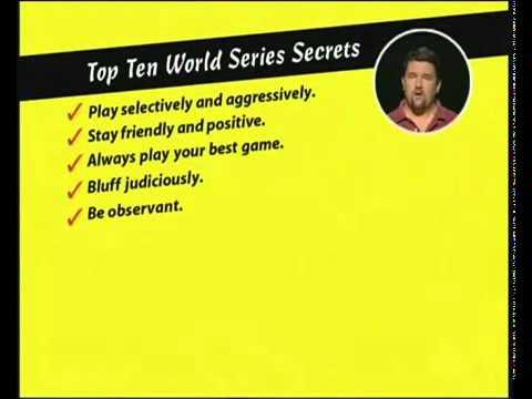 Покер для начинающих. 7. Секреты успеха.