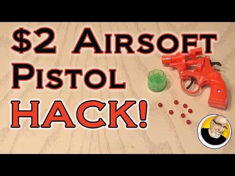 $2 Airsoft Pistol HACK!