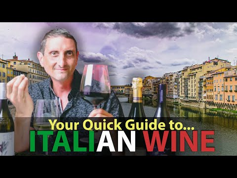 wine article Quick Overview Of Italian Red White  Sparkling Wines