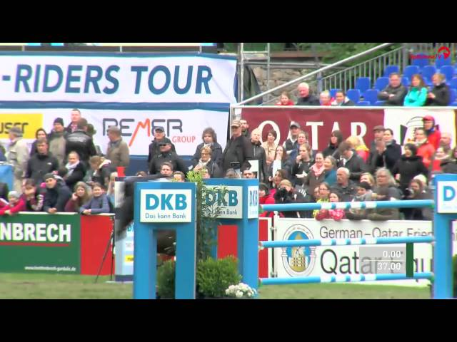 Carlos Enrique Lopez Lizarazo und Admara - DKB-Riders Tour