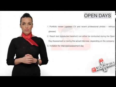 Cabin Crew Job Interview Tips (Open & Assessment Days)