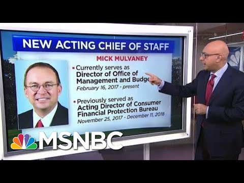 Who Is The New White House Chief Of Staff, Mick Mulvaney? | Velshi & Ruhle | MSNBC