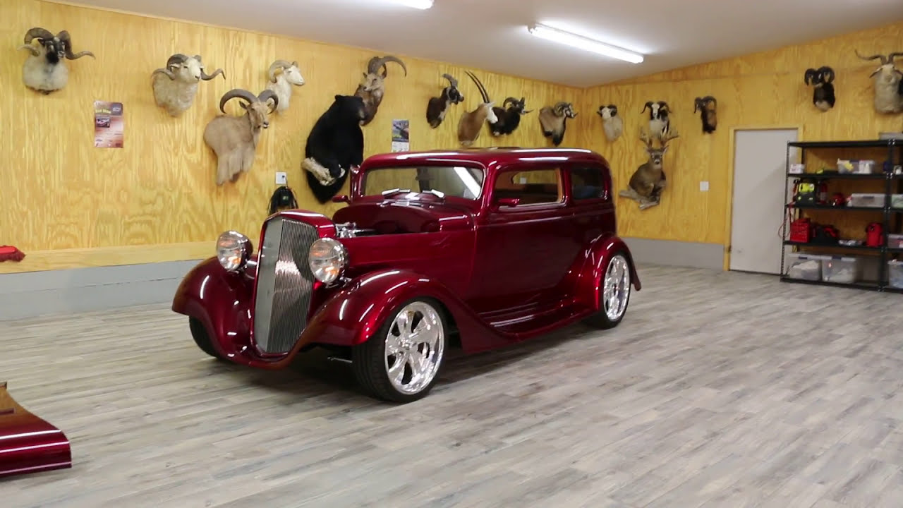Over The Top Downs 1935 Chevrolet Vicky Hot Rod For Sale