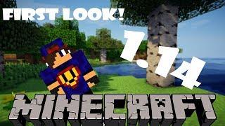 Wszystko Takie Nowe  Minecraft 1.14 || First Look