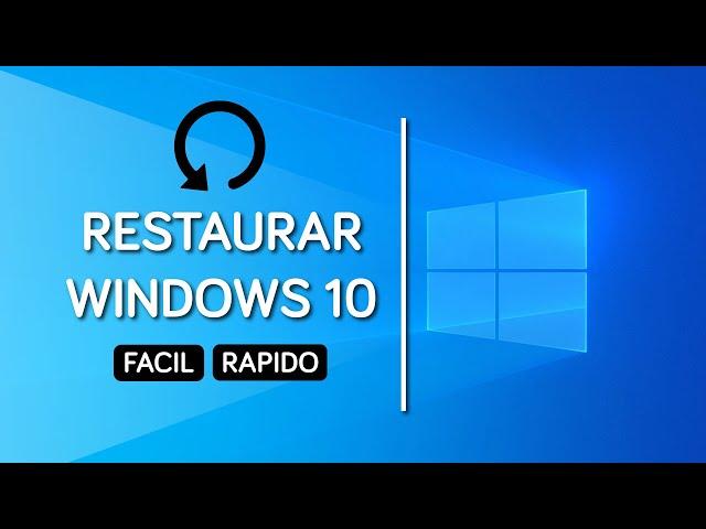 Restaurar Windows 10 de Fábrica ¡Como el Primer día! Sin CD ni USB Muy Fácil y Rápido