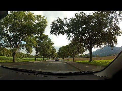 Carouge and Veyrier, Canton of Geneva (Canton de Genève), Switzerland (Suisse) – onboard camera