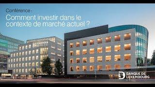 Marchés financiers et gestion : comment investir dans le contexte de marché actuel ?