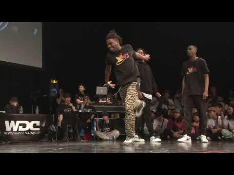 Les Twins vs Justiciers(Kuty Rubix) WDC 2019 FINAL BEST4 HIPHOP  #WDC