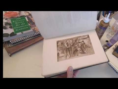 vintage book haul & new stamps