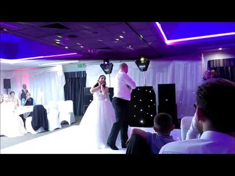 Rachelle And Toms Funny Surprise First Wedding Dance