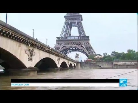France Floods: river Seine bursts its banks reaching 4 meters high in Paris