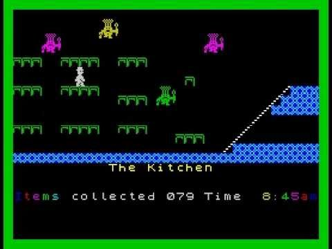 Jet Set Willy Walkthrough, ZX Spectrum