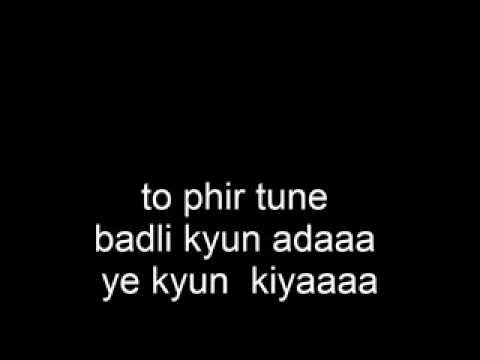 Kabhi Jo Badal Barse - Jackpot Karaoke with lyrics