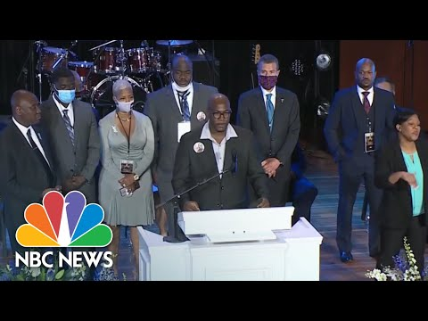 Hundreds Mourn George Floyd At Minneapolis Memorial Service | NBC News NOW