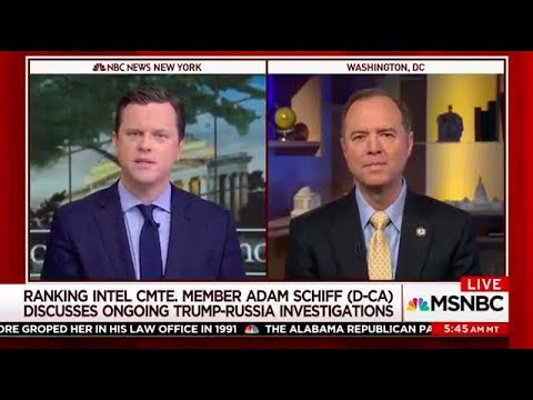 Rep. Schiff on MSNBC: Intelligence Community Was Correct in Russia Interference Assessment