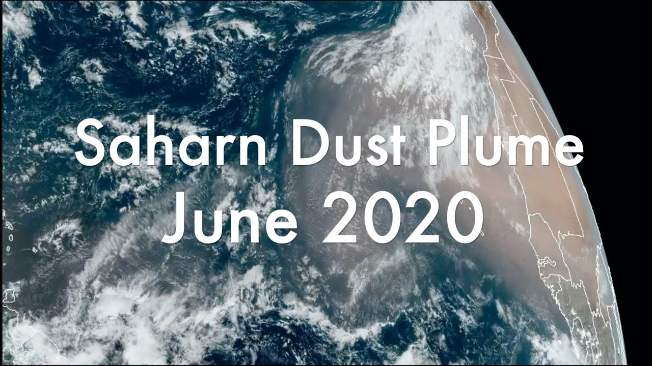 The Great Saharan Dust Plume of June 2020