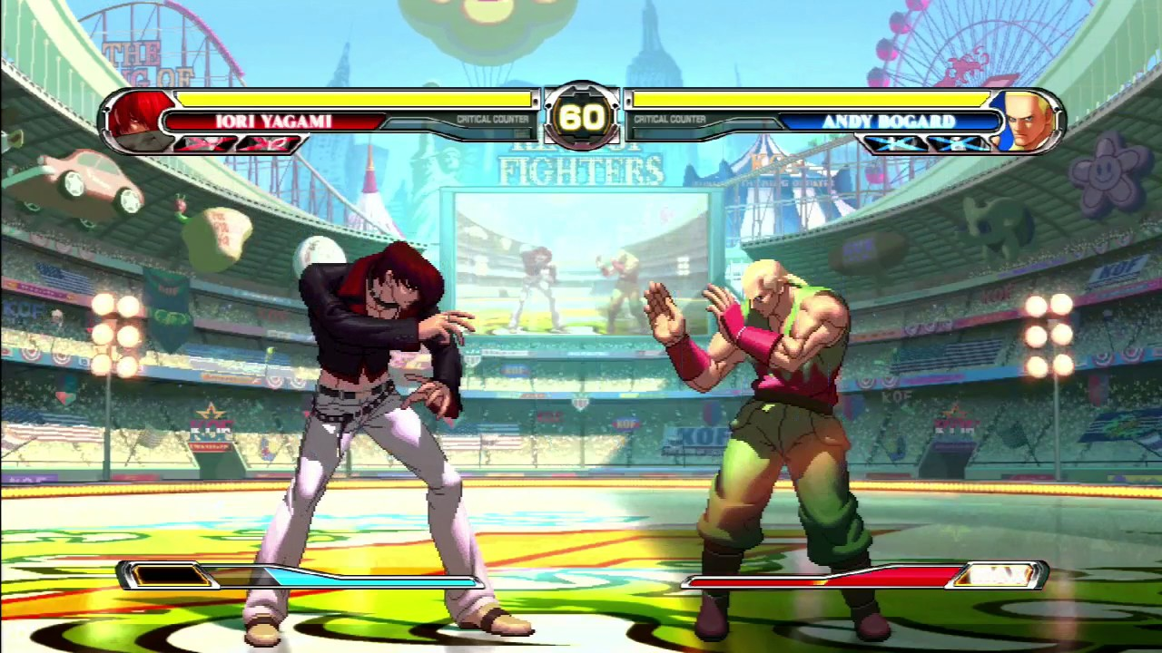 Ps3 60fps The King Of Fighters Xii Menus Modes Gameplay 11