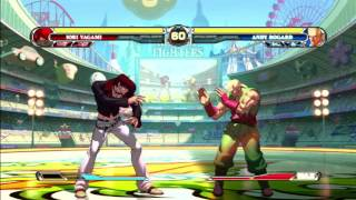 (PS3 60fps) The King of Fighters XII - menus, modes & gameplay 11/24/16