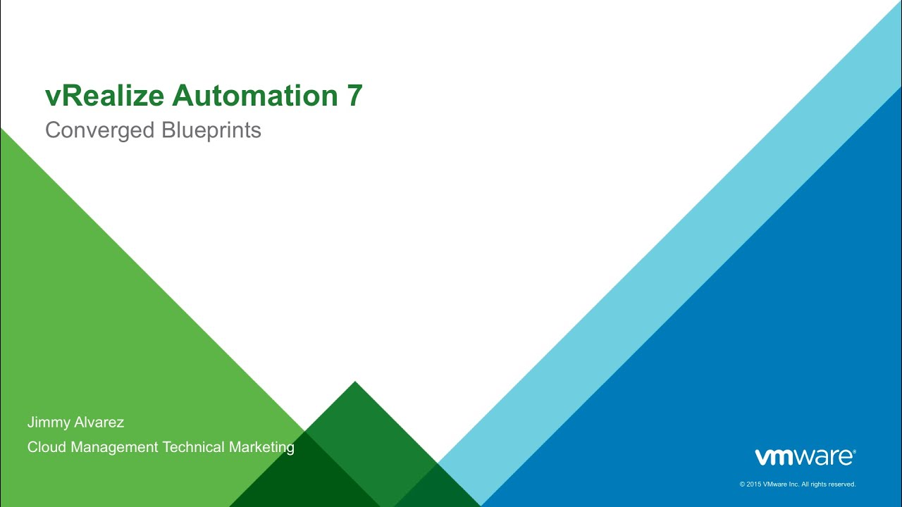 Intro to converged blueprints in vmware vrealize automation 7 youtube intro to converged blueprints in vmware vrealize automation 7 malvernweather Image collections