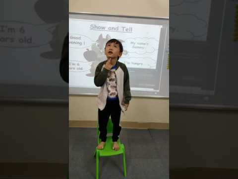 Show and Tell - Đạt - Su9 - Ms Jenny - Tomokid