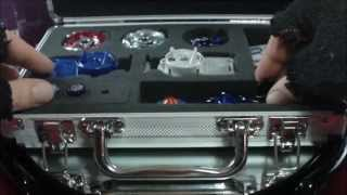 Beyblade WBBA Professional Set- Diablo Nemesis + Big Bang pegasis REVIEW and Test HD! AWESOME