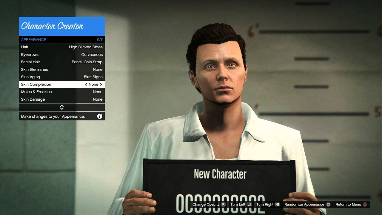 Gta v online ps4 new character creator male youtube gta v online ps4 new character creator male voltagebd Images