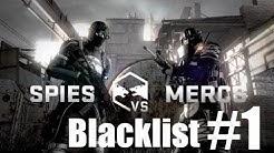 Splinter Cell Blacklist - Multiplayer - Spies VS Mercs - Blacklist Match #1 | CenterStrain01