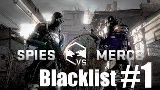 Splinter Cell Blacklist - Multiplayer - Spies VS Mercs - Blacklist Match #1