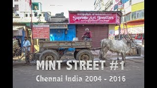 Mint Street #1 Chennai South India - Photo Montage