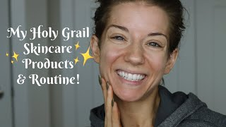 My Holy Grail Skincare Products | AM & PM Routine